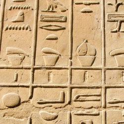 Égypte ancienne - Hiéroglyphes
